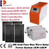3000Wハイブリッド太陽系太陽UPSシステムキット
