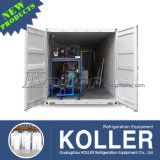 Малое Capacity 1000kg/Day Containerized Ice Block Machine Convenient для Moving