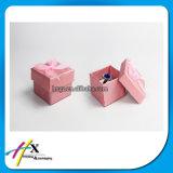 Коробка бархата пакета голубых пластичных бумажных ювелирных изделий привесная с печатание логоса