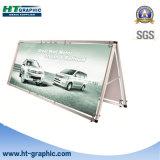 Bandeira ao ar livre reusável do frame de alumínio de pouco peso