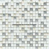 시골풍 Style Ice Crackle Ceramic & Aluminum Alloy를 가진 Glass Mosaic