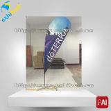 인쇄된 폴리에스테 옥외 광고 5m 눈물방울 기치