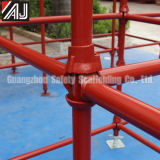 Steel resistente Cuplock Scaffolding para Building Construction, Guangzhou Manufacturer