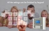 Беспроволочный сигнал тревоги домашней обеспеченностью GSM с функцией APP--Yl-007m2c