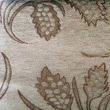 Tela árabe del sofá del telar jacquar del Chenille del color del contraste del estilo