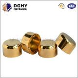 Peça de giro inoxidável de cobre personalizada do CNC do aço de carbono da liga de alumínio