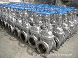 Válvula de porta da extremidade da flange do aço de carbono