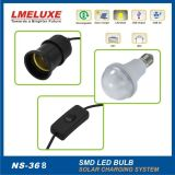 Lighting solare System con 2 LED Bulb