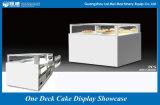 Ein Plattform-Kuchen-Bildschirmanzeige-Schaukasten