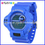 간단한 Design Stainless Steel Case 3ATM Waterproof Sports Electronic Watch