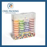 Caja de embalaje cosmética transparente del PVC (CMG-PVC-014)