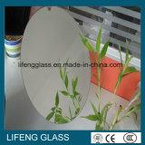 De ronde Decoratieve Spiegels van het Glas ontruimen Zilveren Spiegel