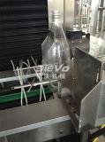 Máquina que envuelve de la escritura de la etiqueta plástica de la botella del encogimiento