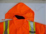 オックスフォード防水ファブリックおよびPPの綿はさみ金が付いている安全Parka