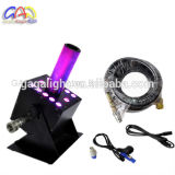 12 X 3W RGB 3in1 DMX lenkt LED-CO2 Strahlen-Maschine
