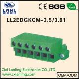 Pluggable разъем PCB терминальных блоков Ll2edgrkm-3.81