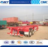 20 ' Container Transportationのための骨組Semi Trailer