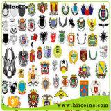 Fabricación de divisas de escuela ninguna divisa de encargo de encargo del bordado del Pin de metal de MOQ Badgesand