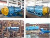 Purificador giratório para a planta de mineração do ouro da pequena escala