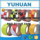 Amostras grátis DOT-C2 Safety Reflective Warning Tape