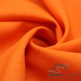 Água & do Sportswear tela 100% Dobro-Listrada tecida do Pongee do poliéster do jacquard da manta para baixo revestimento ao ar livre Vento-Resistente (E059H)