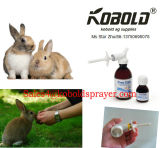 動物の送り装置、薬のスプレーヤー