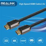4k 3D поддержало кабель 1.4V плоский HDMI