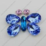 Pedra de cristal da jóia da safira clara por atacado do fabricante da cidade de Jinhua