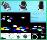 Mini LEIDENE Lage Macht die Hoofd Lichte Witt DMX512 bewegen