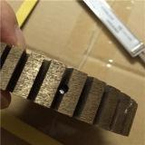 Режущий диск диаманта непрерывный плоский поделенный на сегменты без профиля