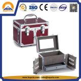 Verfassung u. Schmucksache-Schönheits-Kasten mit Spiegel (HB-1301)