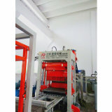 Blocco in calcestruzzo idraulico automatico che fa la macchina del mattone della pietra per lastricati