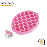 Miroir cosmétique de promotion de qualité pour le cadeau de fille (M05065)