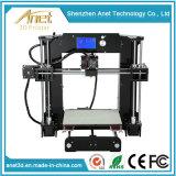 2016년 Anet 최신 새로운 격상된 직업적인 탁상용 Fdm 3D 인쇄 기계 DIY
