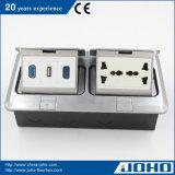 De elektro Contactdozen van de Vloer, de Multifunctionele Contactdoos van de Vloer