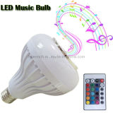 Drahtloses Bluetooth Speaker E27 Music LED Bulb Light Lamp mit Remote Control