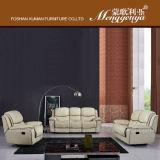 Reclinable de cuero del sofá de la (# 607)
