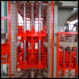Qt4-20 completamente automatico Hollow Block Molding/Making Machine con Changeable Mould
