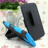 2 in 1 Hybrid Belt Klipp Holster Armour Robot Phone Cover Mobiltelefon Fall mit Kickstand/Holder/Cradle für iPhone