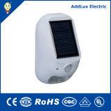 Lampe extérieure actionnée solaire chaude du blanc 1W DEL