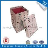 Подгонянная коробка бумажного твердого подарка упаковывая