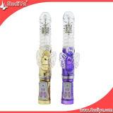 Juguete atractivo giratorio del vibrador del consolador adulto de los productos para las mujeres (DYAST261)