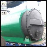 지속적인 폐기물 플라스틱 가공 기계