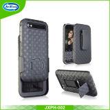 Voar caso capa da qualidade total protetora de plástico Clipe telefone para Blackberry Q20