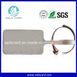 宝石類の盗難防止および記号論理学管理UHF RFIDの札