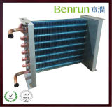 Tipo radiador da aleta do tubo de cobre/cambista de calor