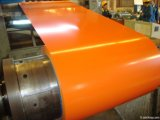 Покрынный цвет гальванизировал стальную катушку для листа толя