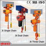 Máquina de levantamento elétrica da grua Chain da Baixo-Altura livre de 0.5 toneladas
