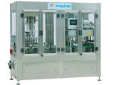 Автоматическая химически заполняя линия, автоматическая машина завалки поршеня, автоматическая разлитая по бутылкам производственная линия, автоматический роторный покрывать, машина для прикрепления этикеток, герметизируя машина