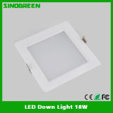 UL 세륨 High Quality LED Down Light 18W